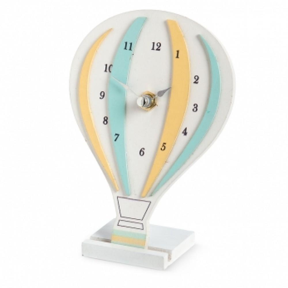 Wooden balloon clock