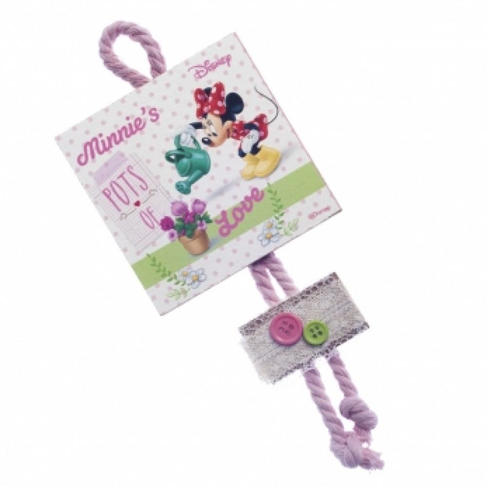 Minnie Λουλούδια Καδράκι